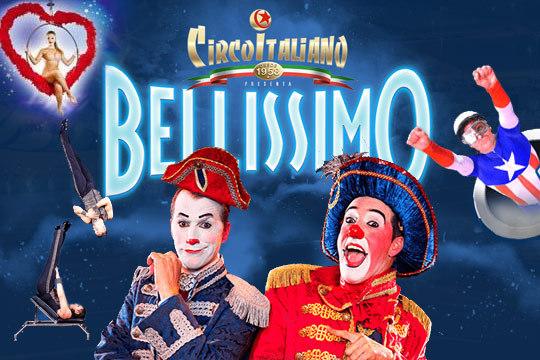 Bellissimo Circo Italiano En Laredo En Laredo