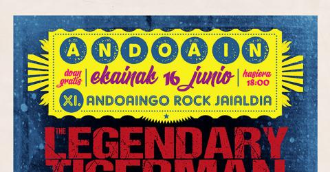 XI. ANDOAINGO ROCK JAIALDIA: The Legendary Tigerman, Boss Hog, The Kill Devil Hills, The Coal Porters, Tulsa, Birkit.
